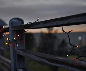 light, photography, and christmas image