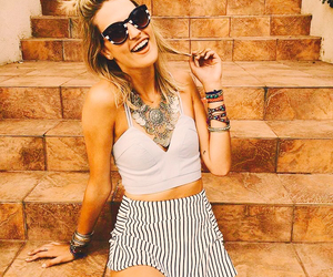 clothes, striped shorts, and cute image