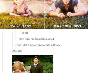 funny, disney, and rapunzel image