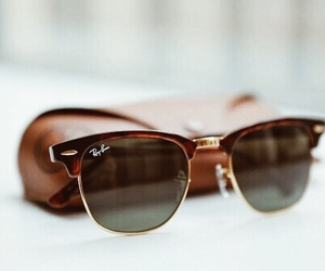 fashion, sunglasses, and ray ban image