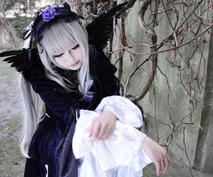 anime expo, best anime cosplay, and suigintou cosplay image