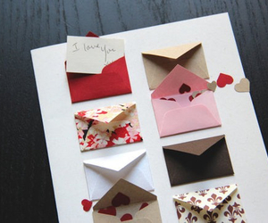 gift, love, and cartas image