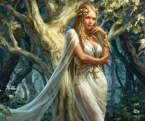 art, fantasy, and persefone image