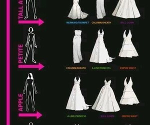 dress, body, and wedding image