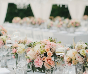 bouquet, bouquets, and chair image