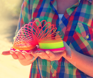 colorful, toy, and hands image