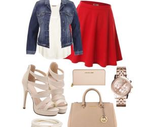 fall, fashion, and heels image
