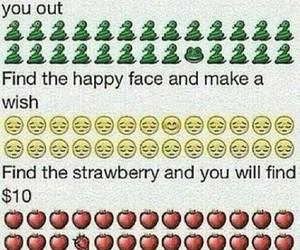 frog, happy face, and strawberry image
