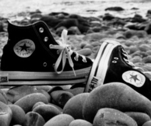 chuck taylor, shoe, and converse image