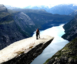 beautiful, norway, and people image