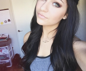 andrea russett, hair, and youtube image