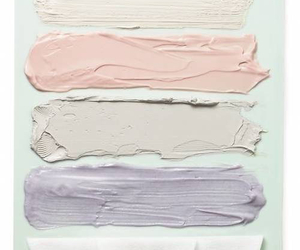 pastel, pink, and paint image
