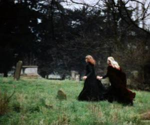 cemetery and Witches image