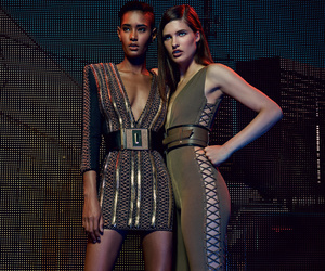 fashion and Balmain image