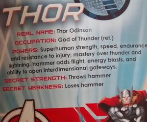 Avengers, hammer, and lol image