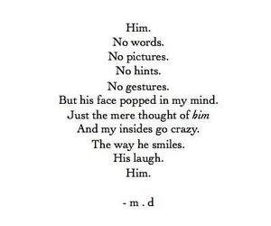 him, quotes, and laugh image