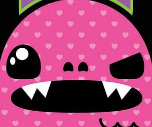 monster, pink, and cute image