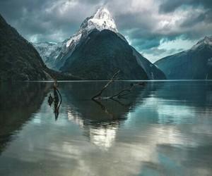 escape, lake, and lost image