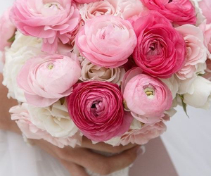 beautiful, bouquet, and fashion image