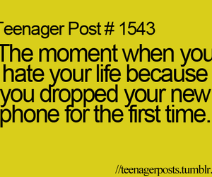 teenager posts, lol, and phone image