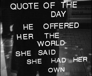 quotes, world, and her image