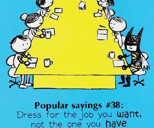 batman, funny, and job image