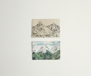 aesthetic, mountains, and picture image