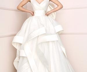 wedding, wedding dress, and fashion image