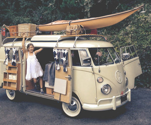 adventure, hipster, and kombi image