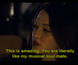 Kat Dennings, movie, and music image