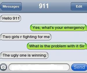 911, funny, and text image