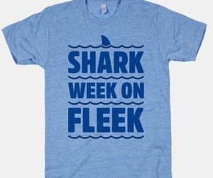 july, sharkweek, and sharks image