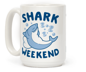 mug, mugs, and sharkweek image