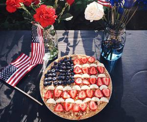 4th of july, food, and sweet image