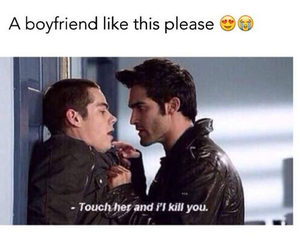 boyfriend and teen wolf image