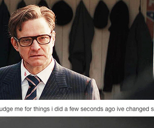 Colin Firth, textpost, and tumblr image