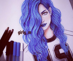 girl, girly_m, and art image