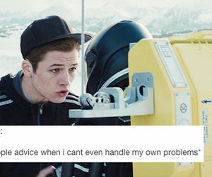 tumblr, textpost, and kingsman image