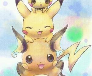 pichu, pikachu, and pokemon image
