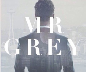 fifty shades of grey, mr grey, and christian grey image