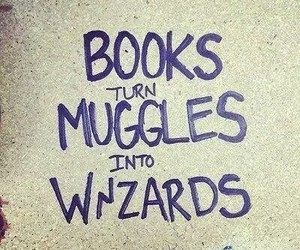 books, harry potter, and muggles image