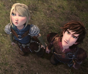 race to the edge, astrid, and hiccup image