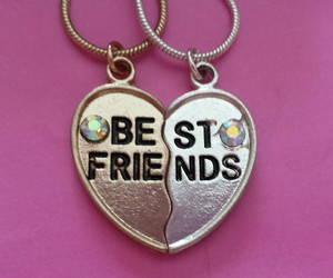 best friends, friendship, and forever image
