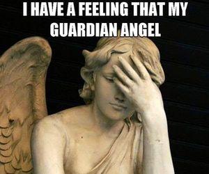 angel, errors, and meme image