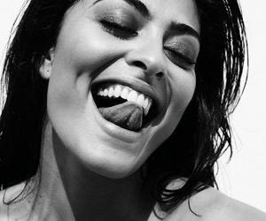 juliana paes, black and white, and brazilian image