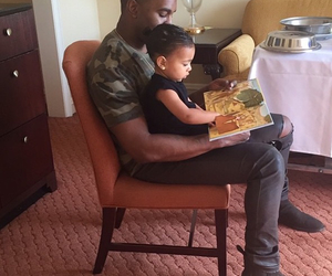 kanye west, family, and north west image