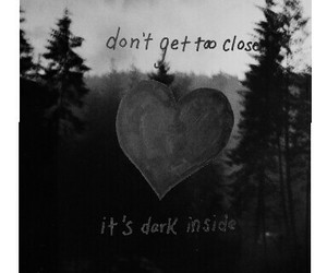 alone, broken, and heart image