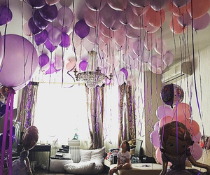 balloons, family, and love image