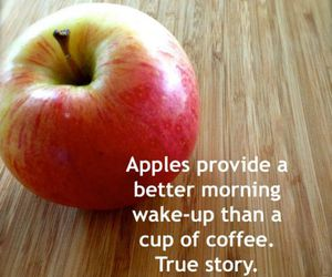apple, hacks, and healthy image