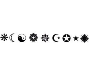 background, black, and simbol image